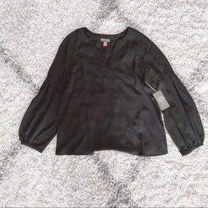 NWT Vince Camuto Black Blouse